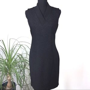 T Taharia Black Bodycon dress